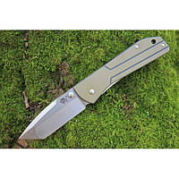 Нож складной Sanrenmu 7071LTF-GVK (сталь:Sandvik 12C27)