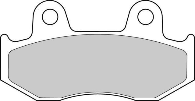 Комплект тормозных колодок Ferodo FDB2119AG