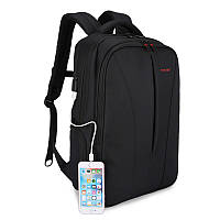 Рюкзак для ноутбука Tigernu-B3220 черный c USB портом, фото 1