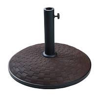 Подставка для зонта бетон Time Eco TE-Н1-25, 25 кг шоколад