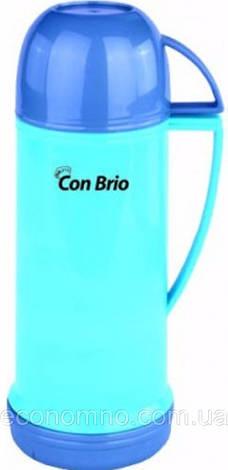 Термос Con Brio 0,45 л, детский СВ-350blue, фото 2