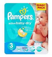 Подгузники детcкие Pampers Active Baby-Dry.размер 3 - 90 шт