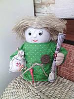 """Кукла """"Домовенок"""" ручная работа высота 20-25 см"""