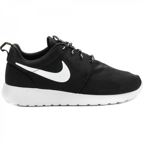 Женские кроссовки Nike Roshe Run Black White