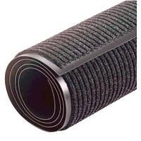 Грязезащитный коврик Дабл Стрипт в рулоне ширина 90 см. серый