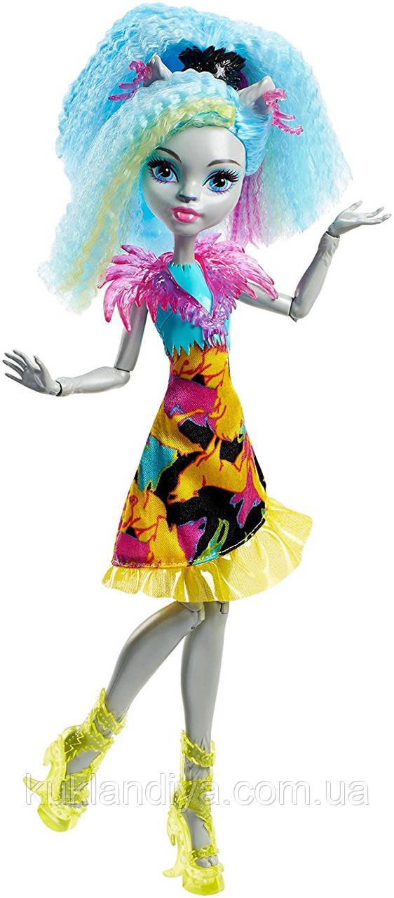Лялька Monster High Сільві Тимбервульф