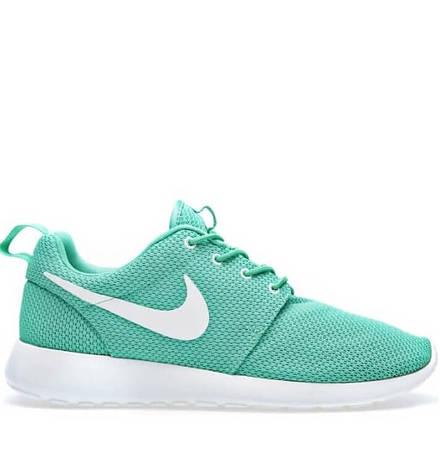 Женские кроссовки Nike Roshe Run Mint Green