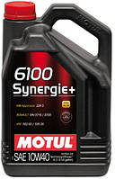 MOTUL 6100 SYNERGIE+ SAE 10W40 (4L)