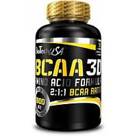 Аминокислоты (БЦАА) Biotech USA  BCAA Nano 3D (90 капсул.)