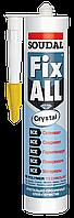Клей-герметик прозрачный FIX ALL CRYSTAL 290 ml