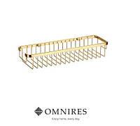 Полка-корзина для ванной OMNIRES UN8963A ZL