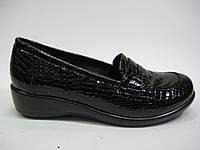 Лаковые туфли на танкетке ТМ Romax