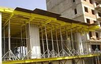 Монолитные фундаменты, колонны, перекрытия; монтаж сборных конструкций