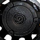 Фекальный насос нержавейка корпус с измельчителем WQEURO DELTA 12 SWP 1.1 + пожарный шланг с гайками, фото 3