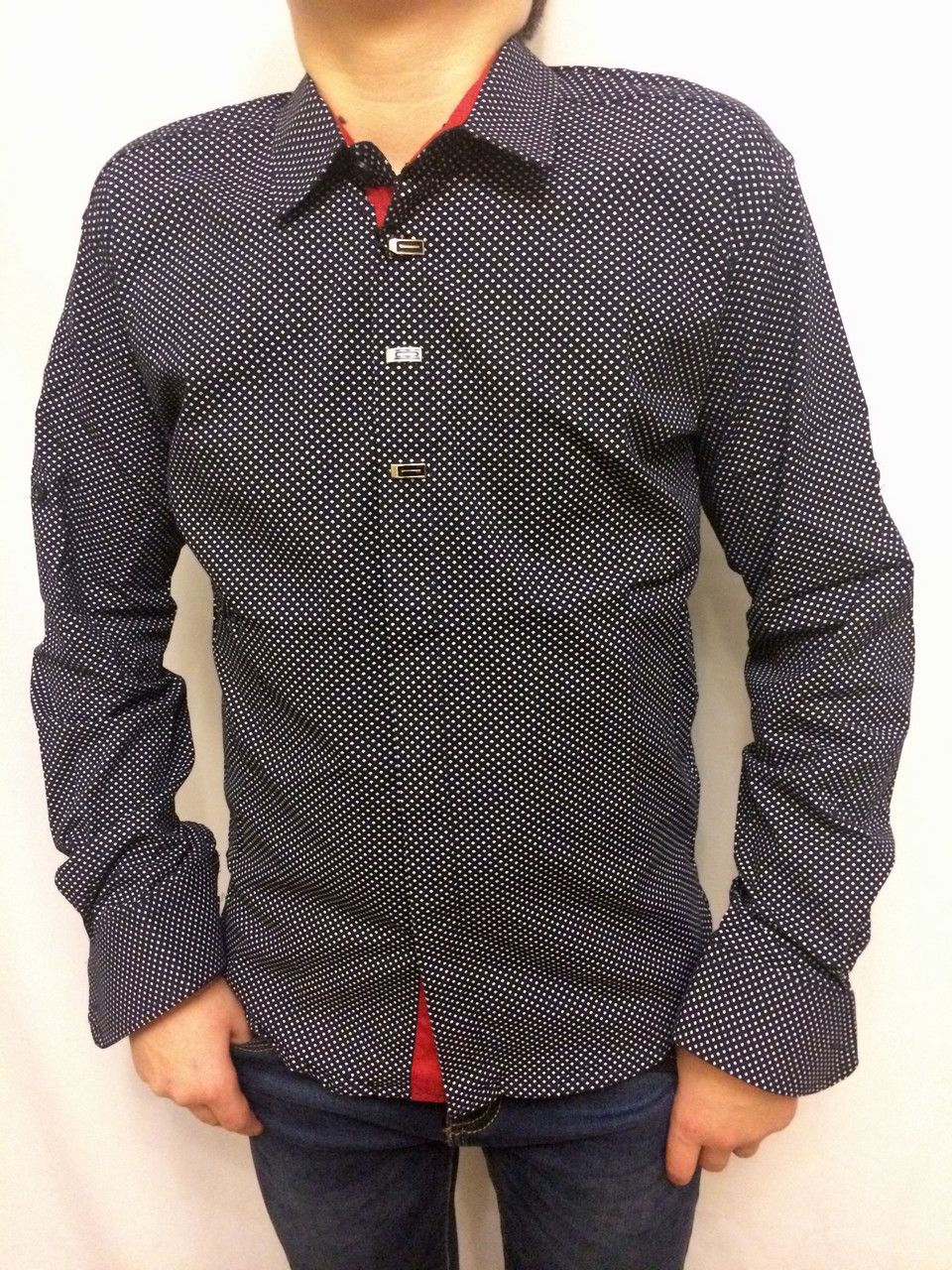 Рубашка для подростка без окантовки планки, фото 1