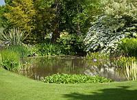 Гидроизоляция искусственных  озер, прудов и декоративных водоемов
