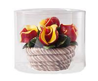 Леденец Корзина с цветами (розы)