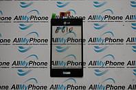 Сенсорный экран для мобильного телефона LG E610 Optimus L5 / E612 Optimus L5 черный