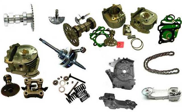 Запчасти для мототехники, мотозапчасти (скутер, мотоцикл, мопед)
