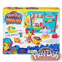 """Плей-Дох игровой набор пластилина """"Город: зоомагазин"""" Play-Doh"""