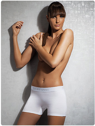 Трусики-шортики Doreanse 8110 белые