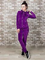 Спортивный костюм женский велюр 801-2