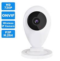Беспроводная камера WiFi видео-фото IP-CAM. HD-качество. Запись на USD