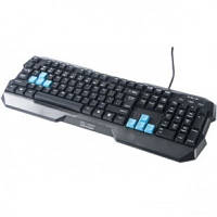 Проводная клавиатура игровая E-BLUE Polygon EKM075BKR