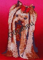 Схема для вышивки бисером «Йоркширский терьер»