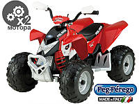 Детский электро крадроцикл Peg-Perego  Polaris Outlaw 12V Италия