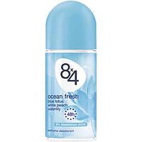 8x4 Perfume Deodorant Женский дезодорант роликовый Свежесть океана 50 мл (Германия)