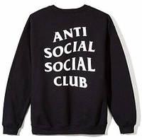 Свитшот A.S.S.C. Anti Social social club Мужской