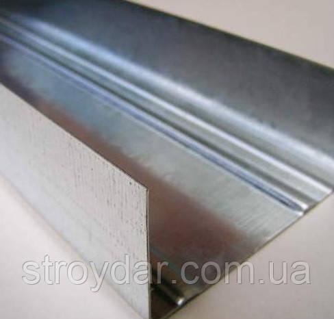 Профиль UW-75 3 м, (0,4 мм)