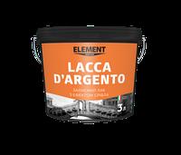 Защитный лак с эффектом серебра Lacca D'argento
