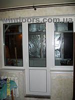 """Балконный блок """"чебурашка"""" в 5-этажке, профиль Rehau-70"""