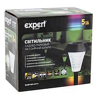 Садовый светильник на солнечных батареях EXPERT  ELWF-SPL-S111( в наборе 5 шт.)