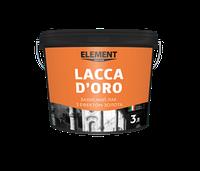 Защитный лак с эффектом золота Lacca D'oro