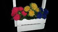 Чертополох из пластика (искусственные цветы), выс. 23 см., 50 шт., 8.10 гр./шт.