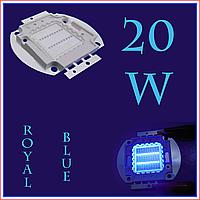 Светодиодная матрица 20 Вт (Royal blue 445нМ)