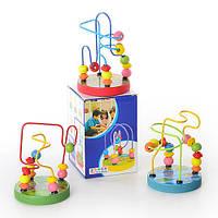 Деревянная игрушка Лабиринт на проволоке MD 0060/E02-324