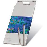 Карандаши  12 цветов шестигранные, Raffine,  Marco