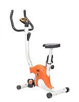 Велотренажёр вертикальный механический (HSF 8012 Orange)