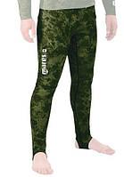 Лайкровые штаны для подводной охоты Mares Rash Guard Camo Green