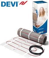 Мат нагревательный двужильный под плитку  DEVI ( 0.5 м.кв) 75 вт