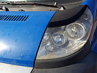 Накладки на фары Peugeot Boxer (Узкие) 2006+, Реснички Пежо Боксер