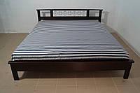 Кровать двуспальная Вишиванка