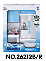 "Кухня ""Маленькая хозяйка"" в синем цвете 27х9,5х34,5см (26212B/R)"