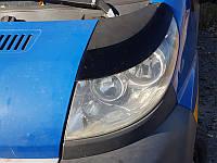 Накладки на фары Peugeot Boxer (Широкие) 2006+, Реснички Пежо Боксер