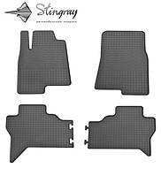 Автомобильные коврики Mitsubishi Pajero Wagon  2007- Комплект из 4-х ковриков Черный в салон. Доставка по всей Украине. Оплата при получении