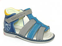 Летняя ортопедическая детская обувь, босоножки Шалунишка:5688,р.20(13 см)